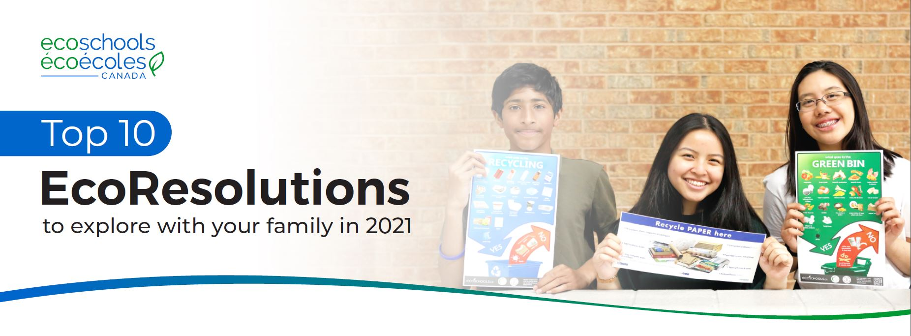 EcoSchools Top 10 Family EcoResolutions