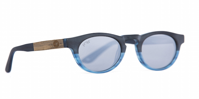 Banks Eco (Blue Silver Polarized Lens) by Proof Eyewear