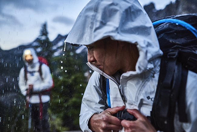 rain gear guide: columbia
