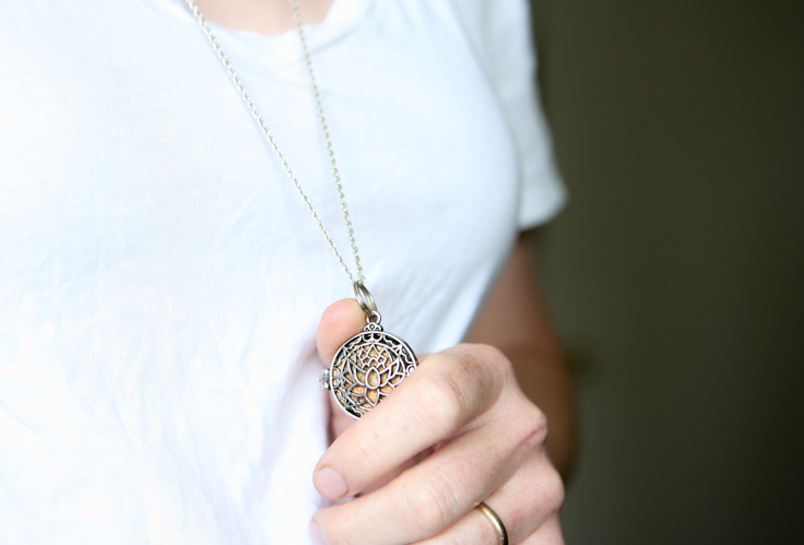 diffuser pendant on chain