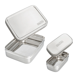 eco-friendly back to school basics Dalcini Stainless containers