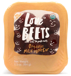 Love Beets Organic Cooked Beets - healthy fast foods