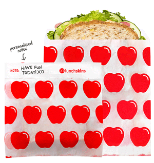eco-friendly back to school basics Lunchskins disposable sandwich bags