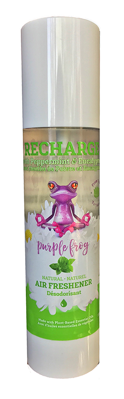 Purple Frog Aromatherapy stocking stuffers