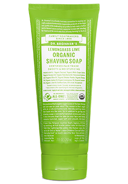 Dr. Bronner's shaving soap stocking stuffers