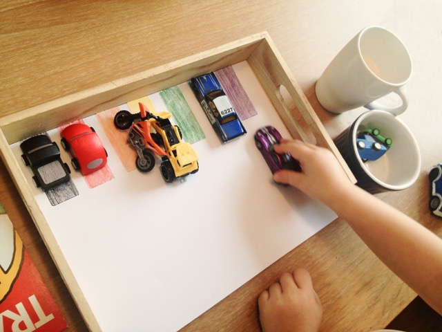 Toy Vehicle Colour Matching Actiity
