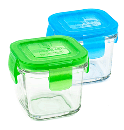 Wean Green Glass Storage Containers - back to school hack