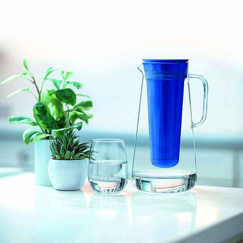 Life Straw water filtration pitcher