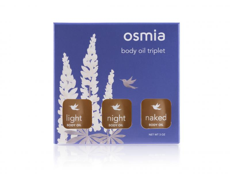 Osmia Beauty Oil Triplet