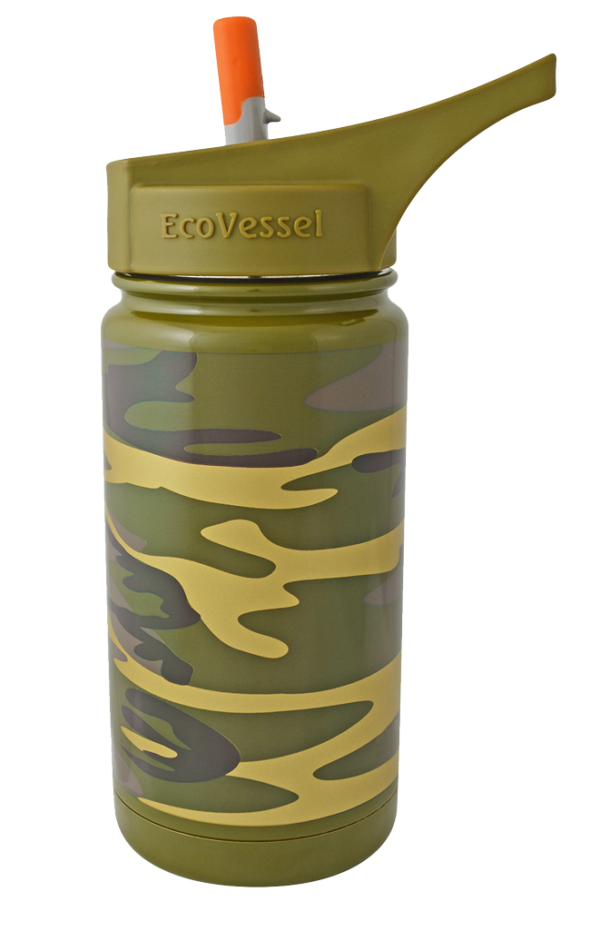 Eco Vessel kids insulated stainless steel water bottle